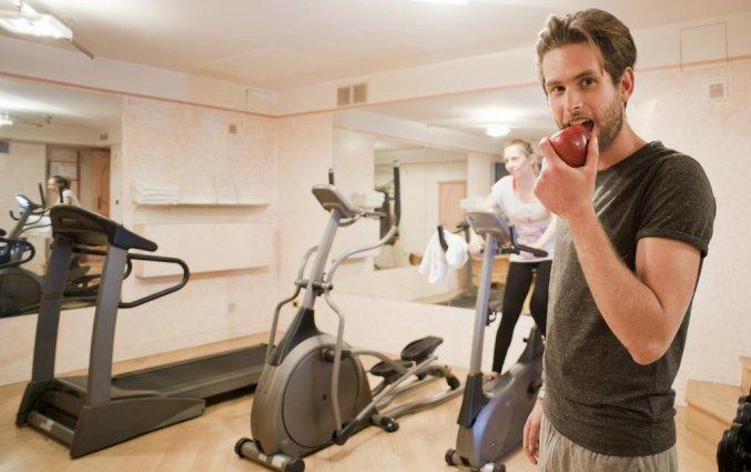 Fitness ruimte van Hotel iH Milano Regency Milaan Italië