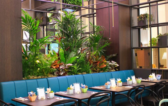 Het restaurant van Hotel Sanpi Milaan