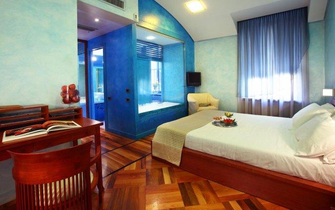 Een kamer van Hotel Sanpi Milaan