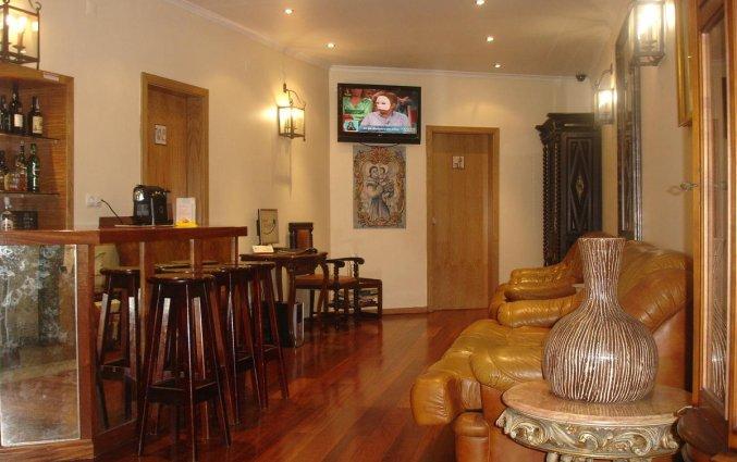 Bar van Hotel Alcobia in Lissabon