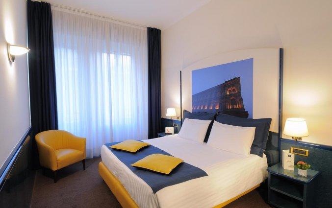 Tweepersoonskamer van Hotel IH Milano Ambasciatori Milaan