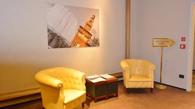 Lounge van Hotel IH Milano Ambasciatori Milaan