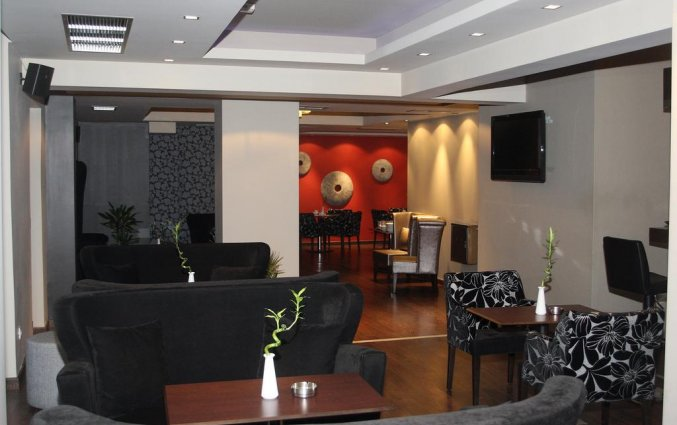 Lounge van Hotel Areos in Athene