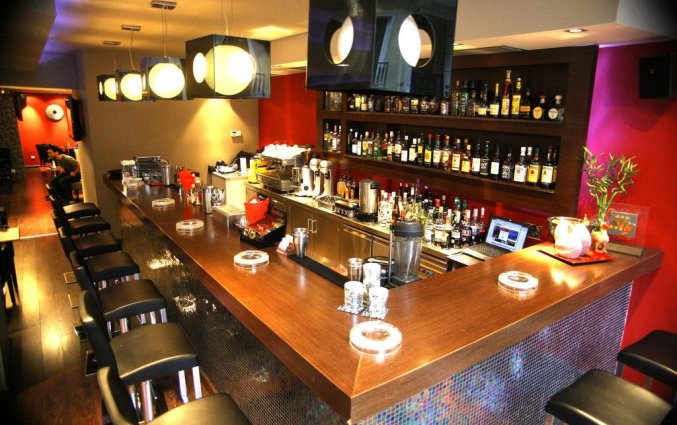 Bar van Hotel Areos in Athene