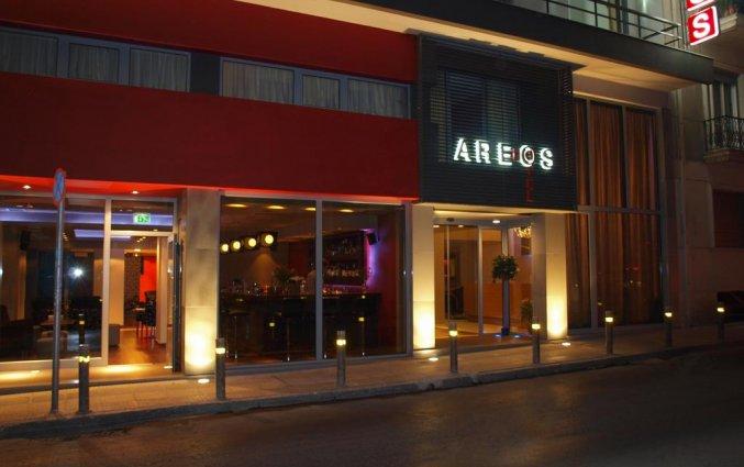 Gebouw van Hotel Areos in Athene