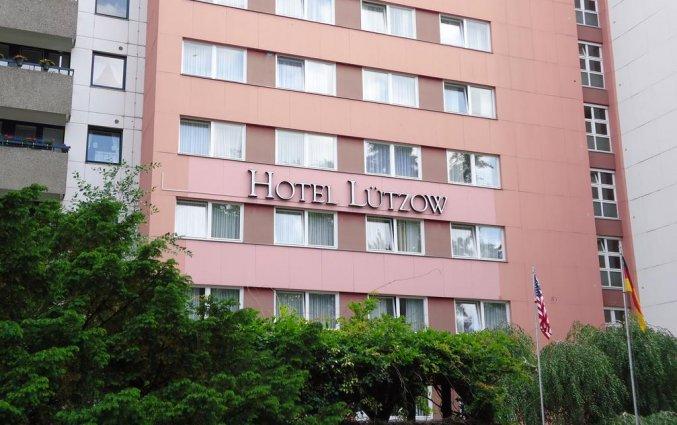 Buitenkant van hotel Lützow  Berlijn