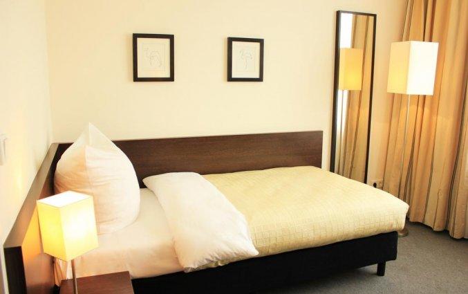 Kamer met éénpersoonsbed hotel Lützow Berlijn