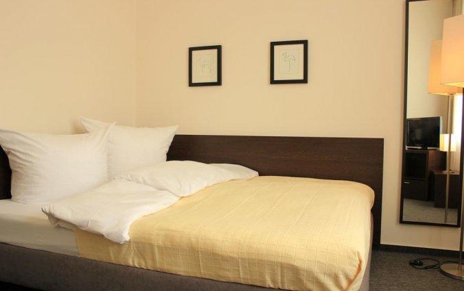Tweepersoonsbed hotel Lützow Berlijn