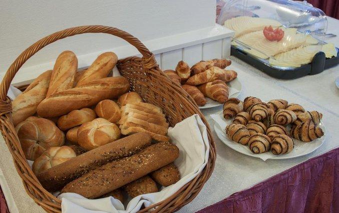 Ontbijt van Hotel Pilvax in Budapest