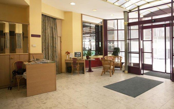Receptie van Hotel Pilvax in Budapest