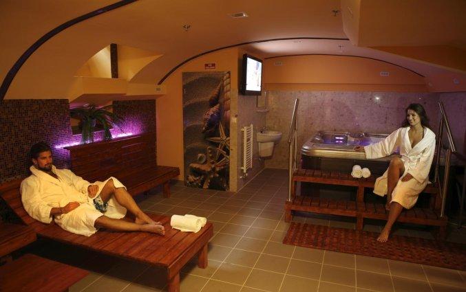 Sauna van Hotel Six Inn Budapest