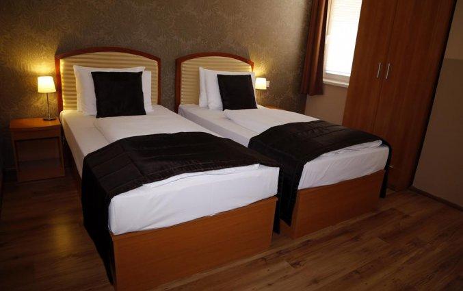 Tweepersoonskamer van Hotel Six Inn Budapest