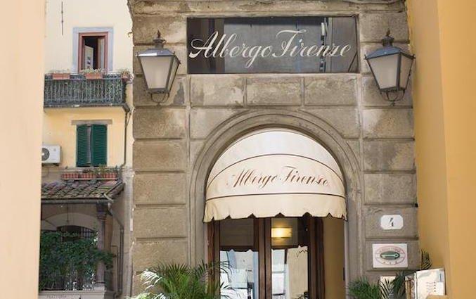 Entree van Hotel Albergo Firenze in Florence
