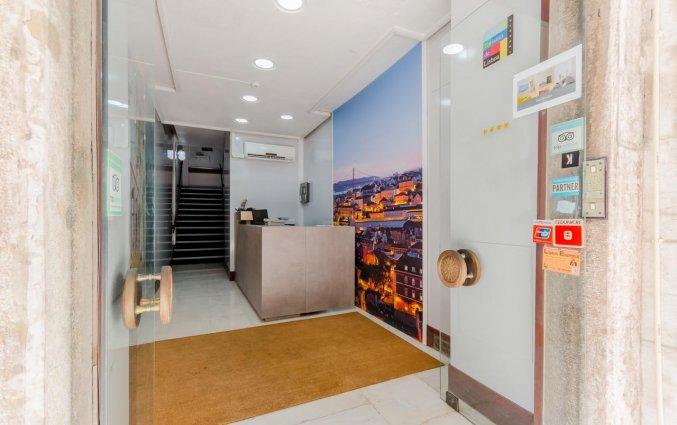 Receptie van Hotel LX Rossio in Lissabon
