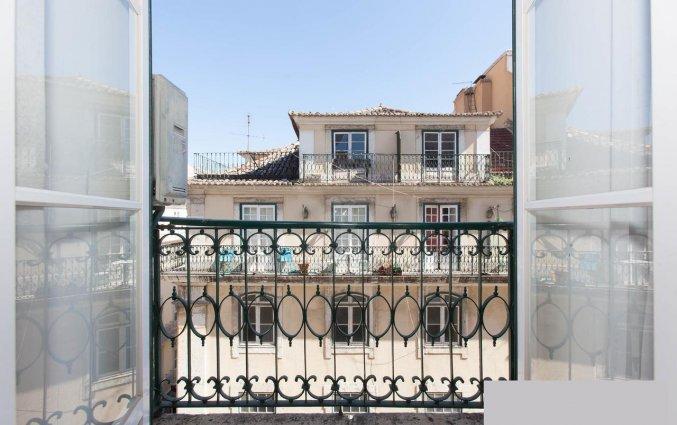 Balkon van Hotel LX Rossio in Lissabon