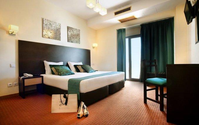 Tweepersoonskamer van Hotel Dom Afonso Henriques in Lissabon