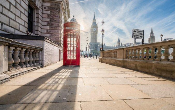 Londen - Telefooncel en Big Ben