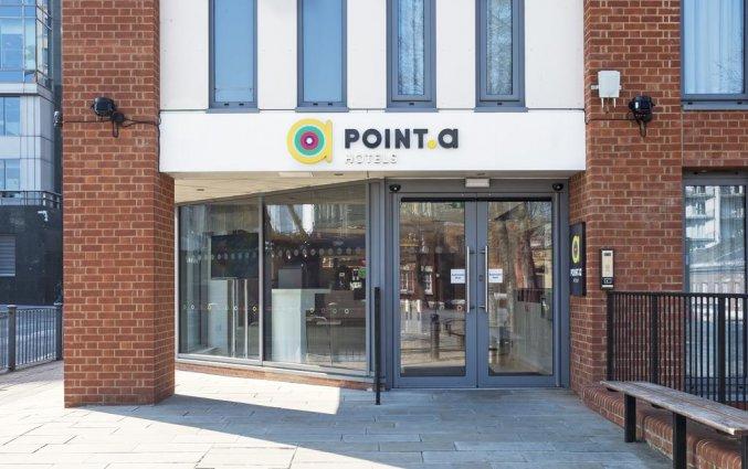 Gebouw van Hotel Point A Canary Wharf in Londen