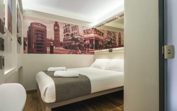 Tweepersoonskamer van Hotel Point A Canary Wharf in Londen