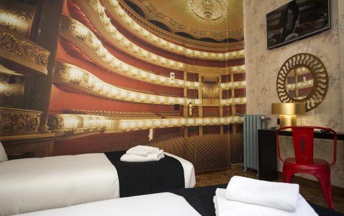 Tweepersoonskamer Hotel Casual Madrid del Teatro in Madrid