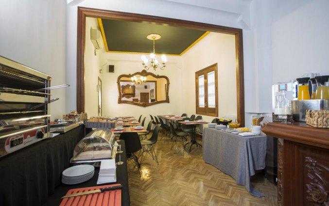 ontbijt Hotel Casual Madrid del Teatro in Madrid