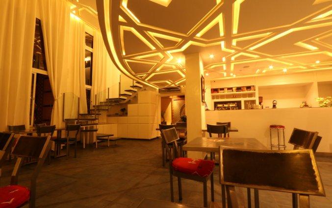 Ontbijtzaal van Hotel Amani Appart in Marrakech