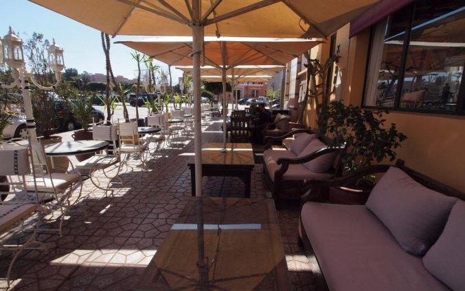 Terras van Hotel Amani Appart in Marrakech
