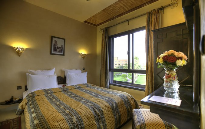 Tweepersoonskamer van Hotel Amani Appart in Marrakech