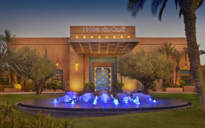 Buitenzwembad van Hotel du Golf Rotana in Marrakech