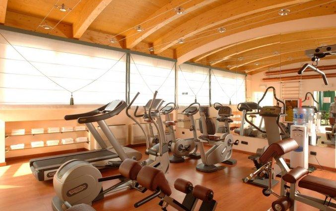 Fitnesszaal van Hotel Best Western Antares Concorde in Milaan