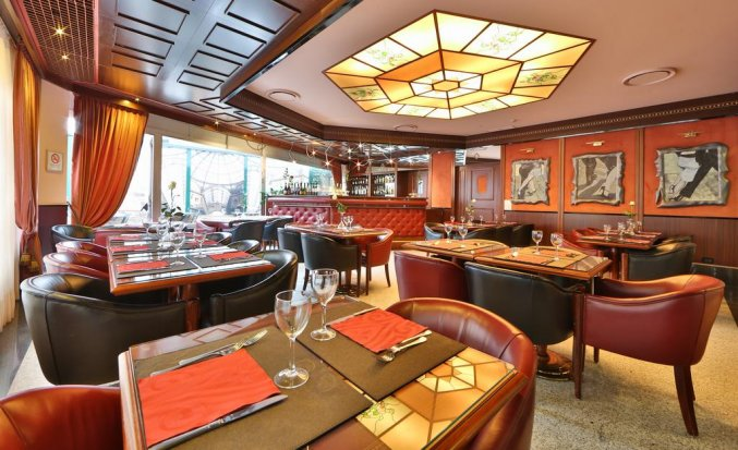 Restauranr van Hotel Best Western Antares Concorde in Milaan