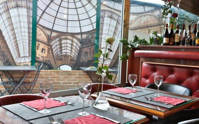 Restaurant van Hotel Best Western Antares Concorde in Milaan