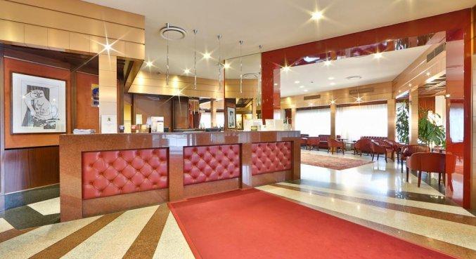 Receptie van Hotel Best Western Antares Concorde in Milaan