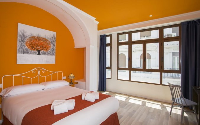 Tweepersoonsbed kamer Hotel Casual Valencia Vintage