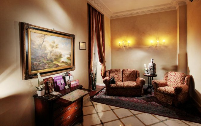 Lounge van hotel Solis in Rome
