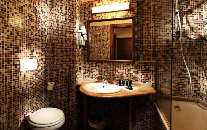 Badkamer van hotel Solis in Rome