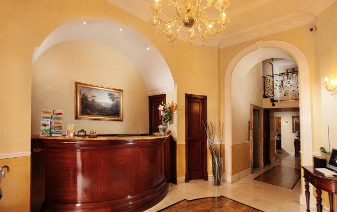 Receptie van hotel Solis in Rome