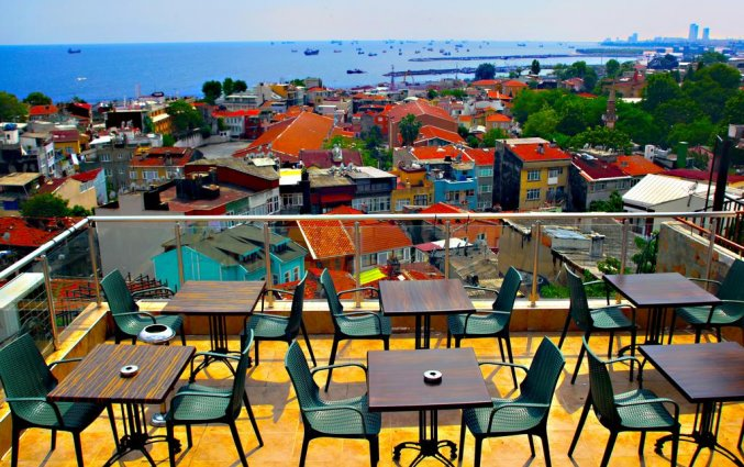 Dakterras van Hotel Art City in Istanbul