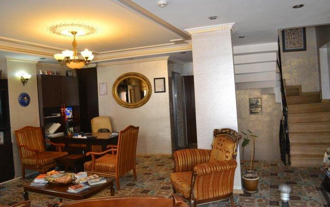Lobby van Hotel Art City in Istanbul