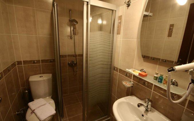 Badkamer van een tweepersoonskamer van Hotel Art City in Istanbul