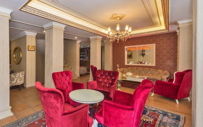 Lounge van hotel Santa Sophia in Istanbul