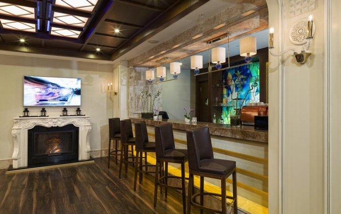 Bar van Hotel Manesol Boutique Galata in Istanbul