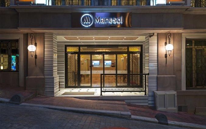 Entree van Hotel Manesol Boutique Galata in Istanbul