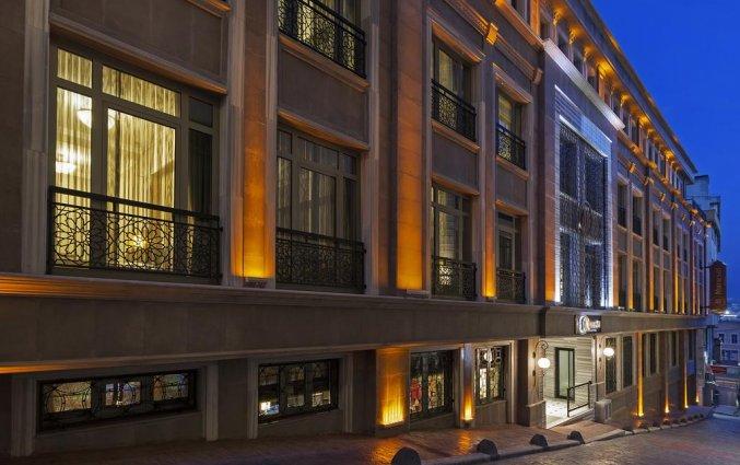 Vooraanzicht van Hotel Manesol Boutique Galata in Istanbul