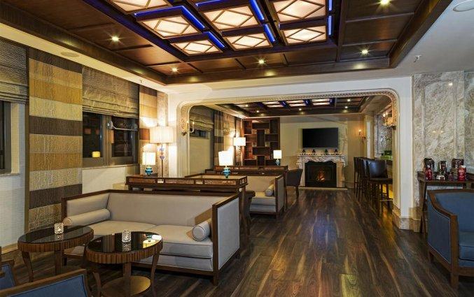 Lounge van Hotel Manesol Boutique Galata in Istanbul