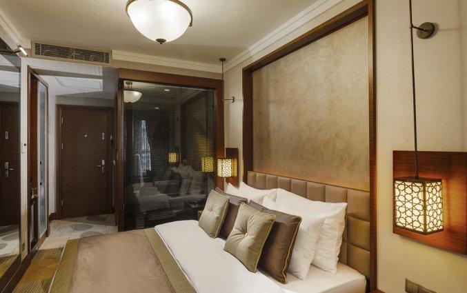 Tweepersoonskamer van Hotel Manesol Boutique Galata in Istanbul