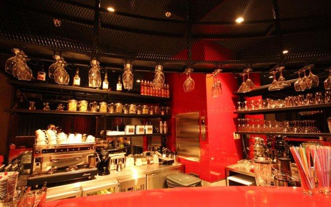 Bar van Hotel Naumpasa Konagi in Istanbul