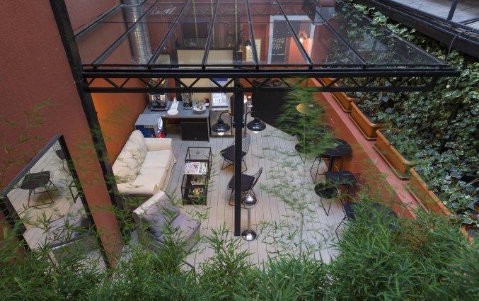 Terras van Hotel Fitas Oda Beyoğlu in Istanbul