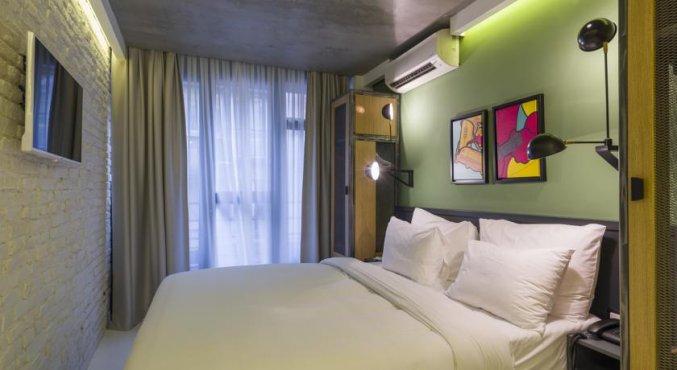 Tweepersoonskamer van Hotel Fitas Oda Beyoğlu in Istanbul
