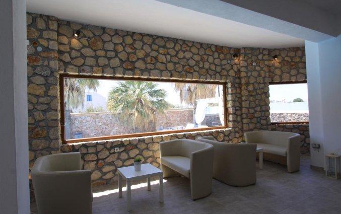 Lobby van Hotel Iliada Santorini